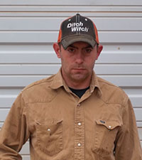 Nick Richie - Grant County Oklahoma District 1 Bridge Crew & Grader Operator