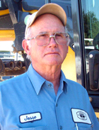 Jesse Dillon II - Grant County Oklahoma District 3 Trackhoe Operator