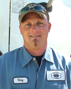 Tony Shaffer - Assistant Foreman -  Grant County Oklahoma District 3 Loader Operator