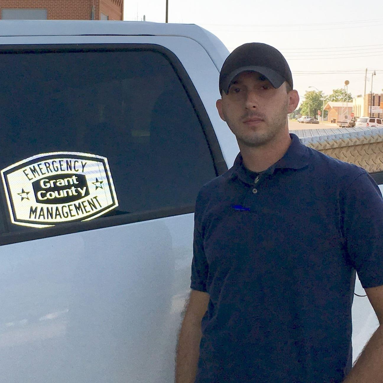 Brandon Fetters, Grant County Oklahoma Emergency Management and Safety Director