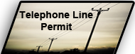 Telephone Line Resolutiion & Permit