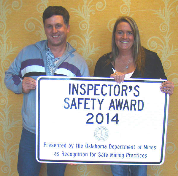 Grant County District 3 Safety Award 2014