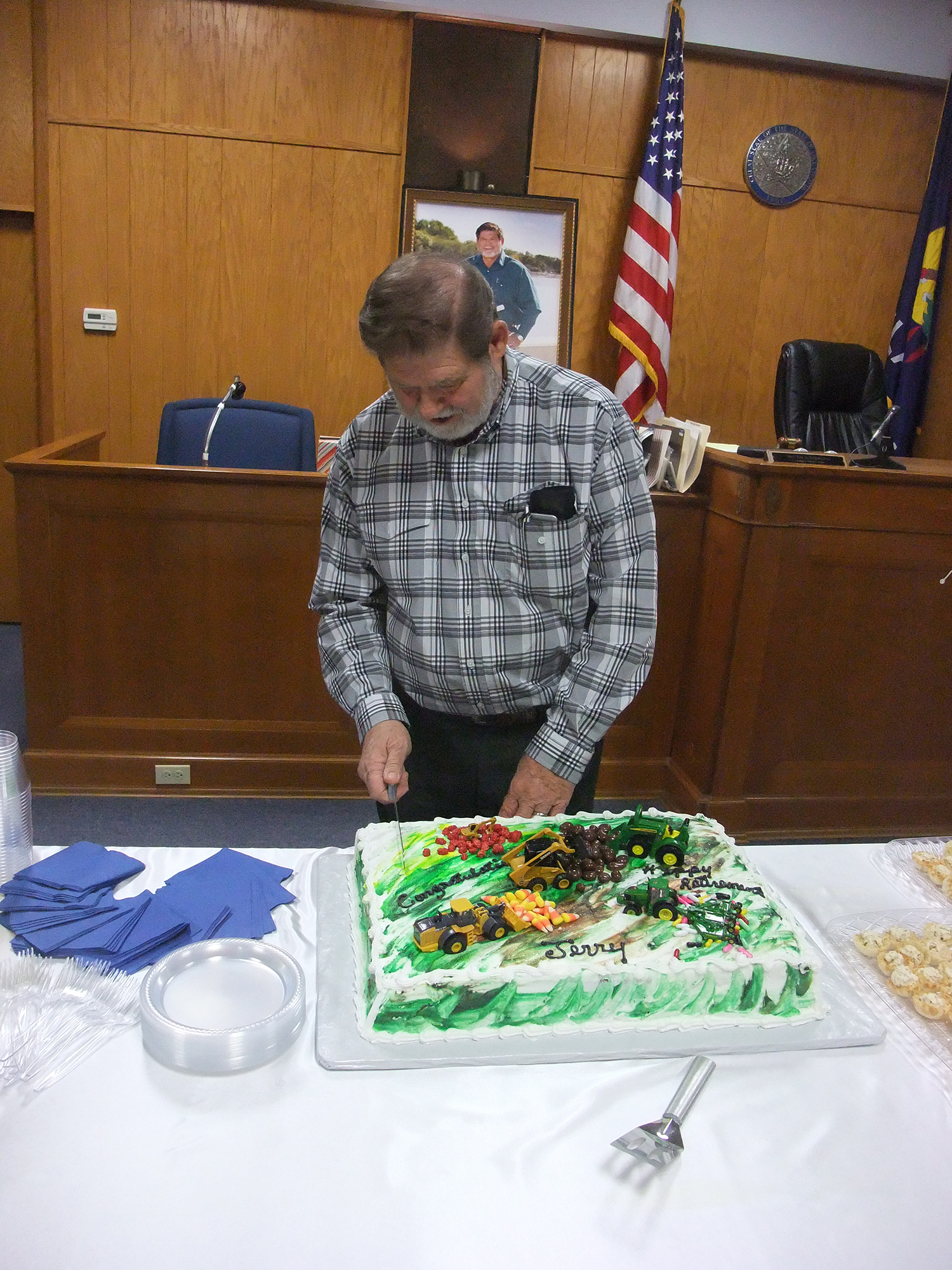 Jerry Shaffer Retirement Party