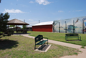 Pond Creek, Oklahoma Mural
